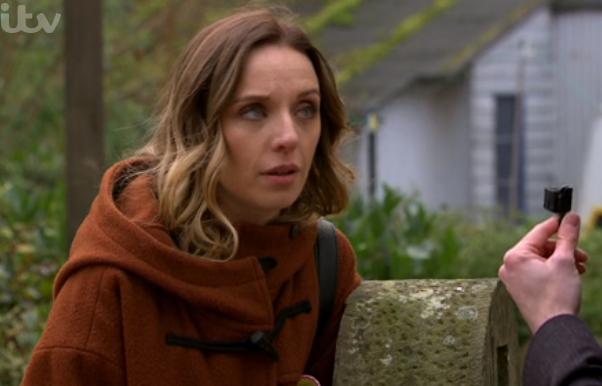 Emmerdale viewers baffled as Andrea goes to work in her pyjamas
