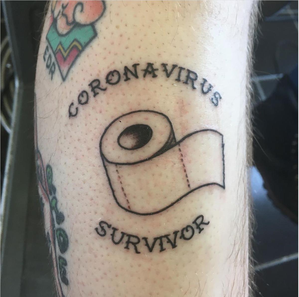 Coronavirus tattoo instagram tattoovoodoony
