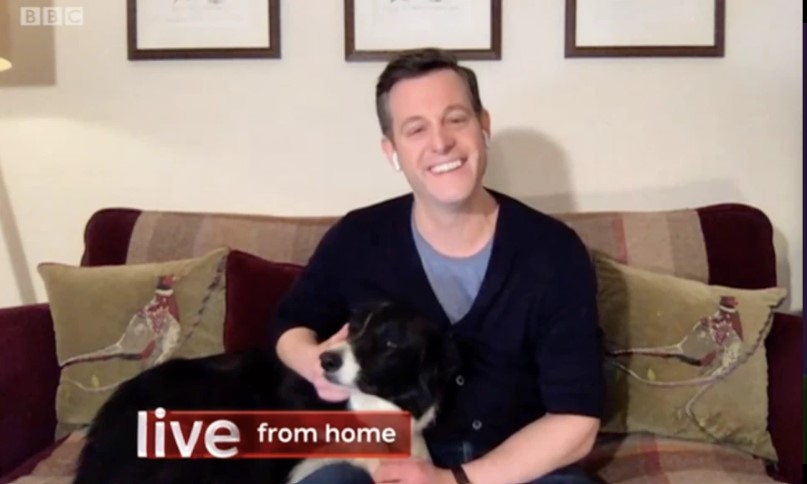 Coronavirus crisis: Matt Baker hosts The One Show from home as he self-isolates