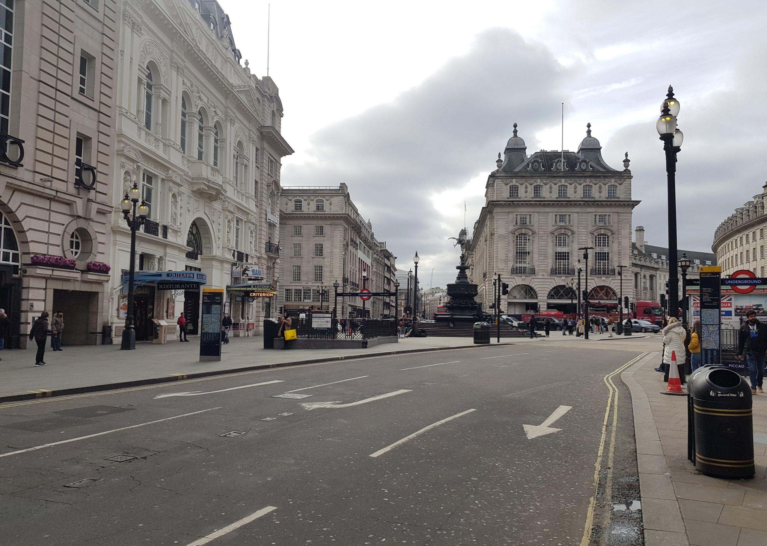 Empty streets during coronavirus outbreak