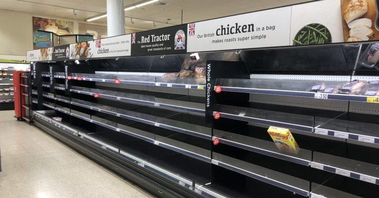 UK supermarket coronavirus