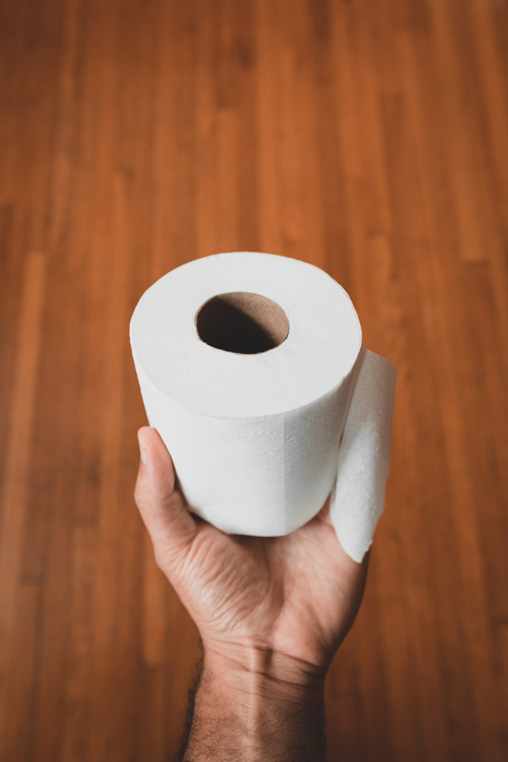 unsplash toilet roll tissue paper coronavirus