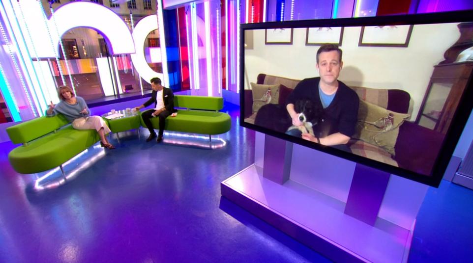 Matt Baker on The One Show