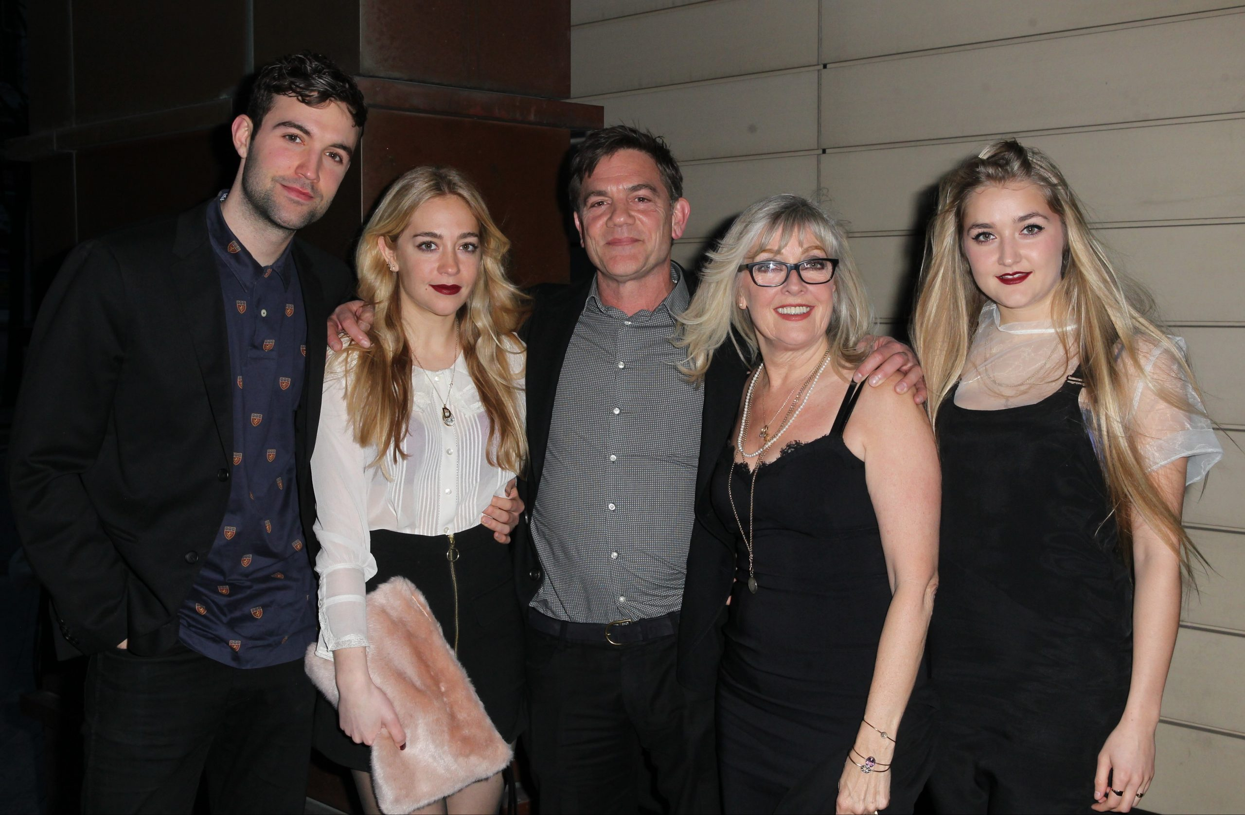 The Michie family pictured in 2015 (Credit: Splash)