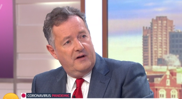 Coronavirus crisis: Piers Morgan clashes with GMB guest over conflicting advice