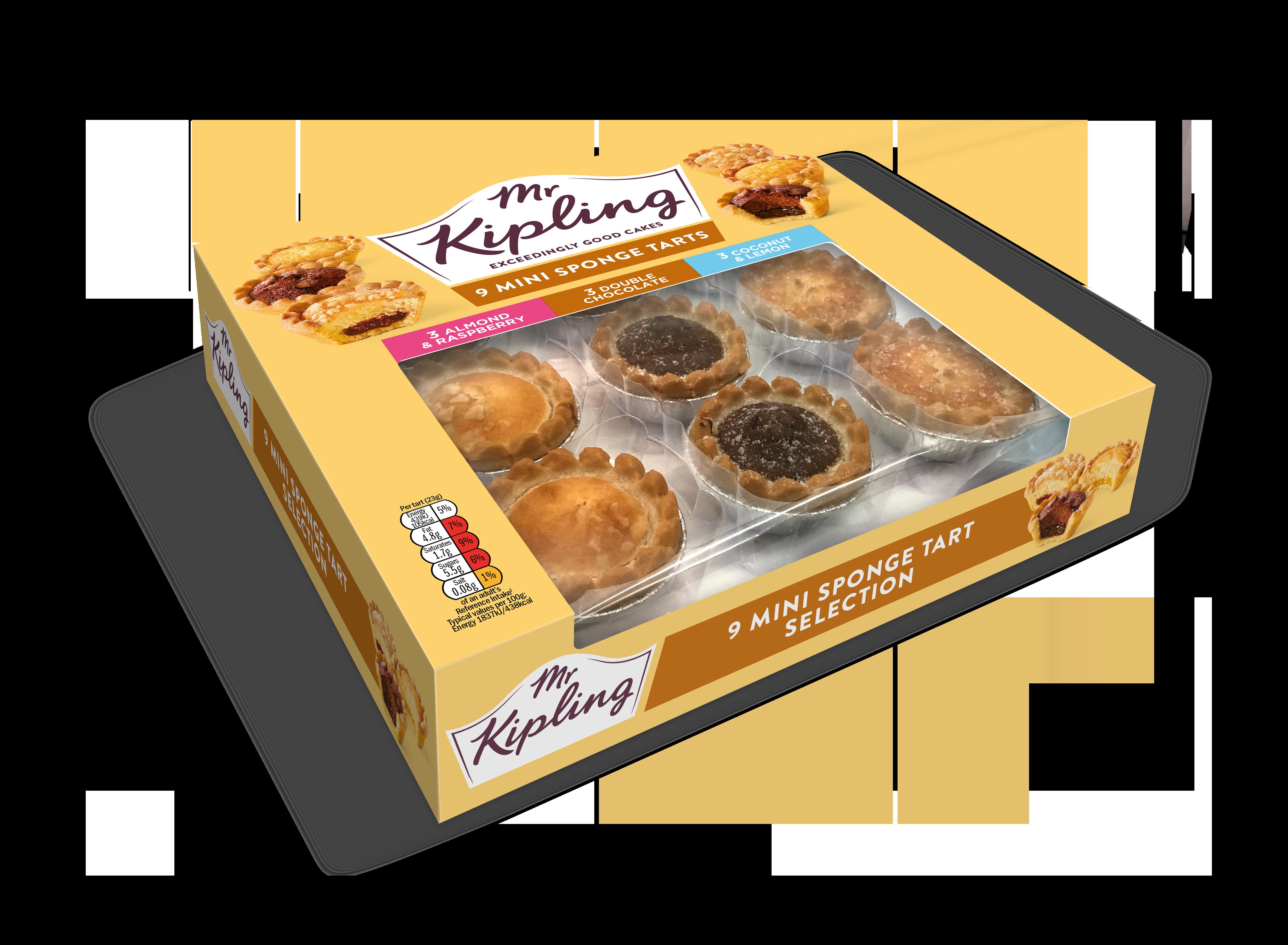 Mr Kipling pies cakes