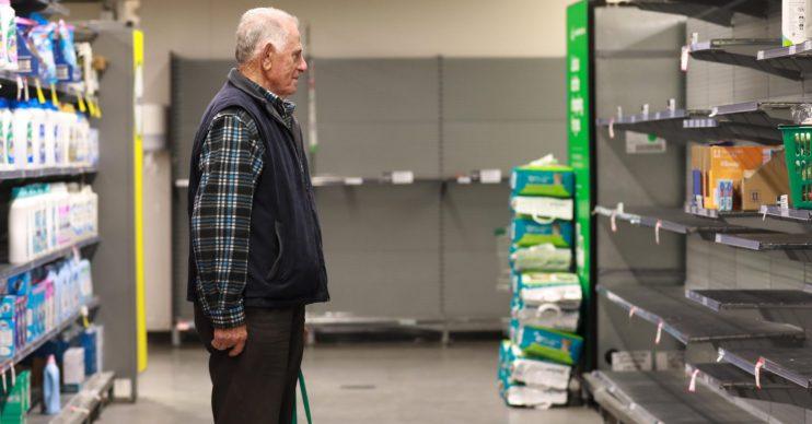 Elderly opening hours supermarket coronavirus
