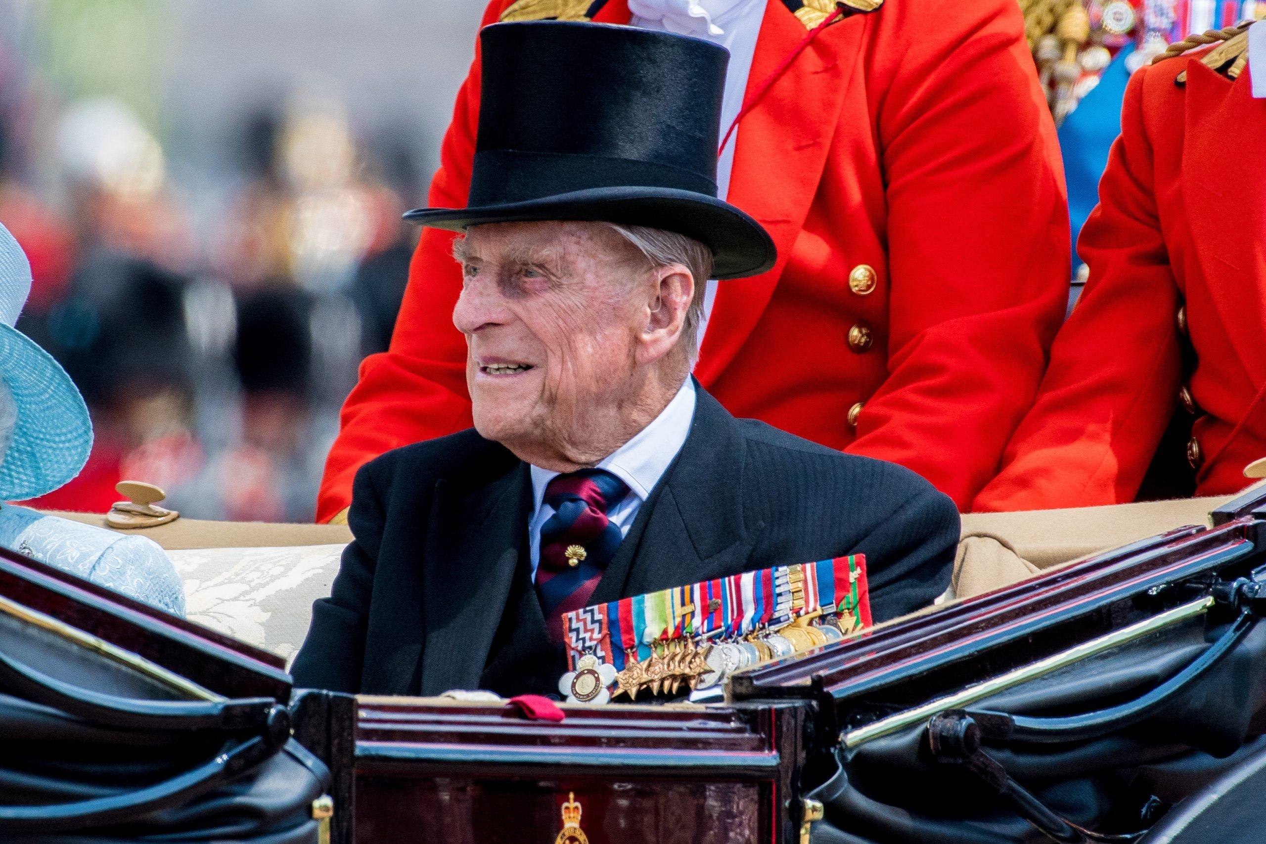 Rumours Prince Philip was dead