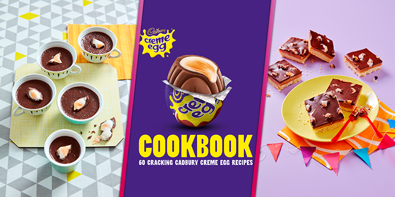 Creme Egg brownies, shortbread and rocky road feature in Cadbury's 'egg-citing' new cookbook