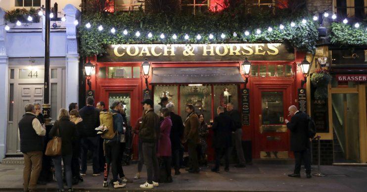 London pub coronavirus