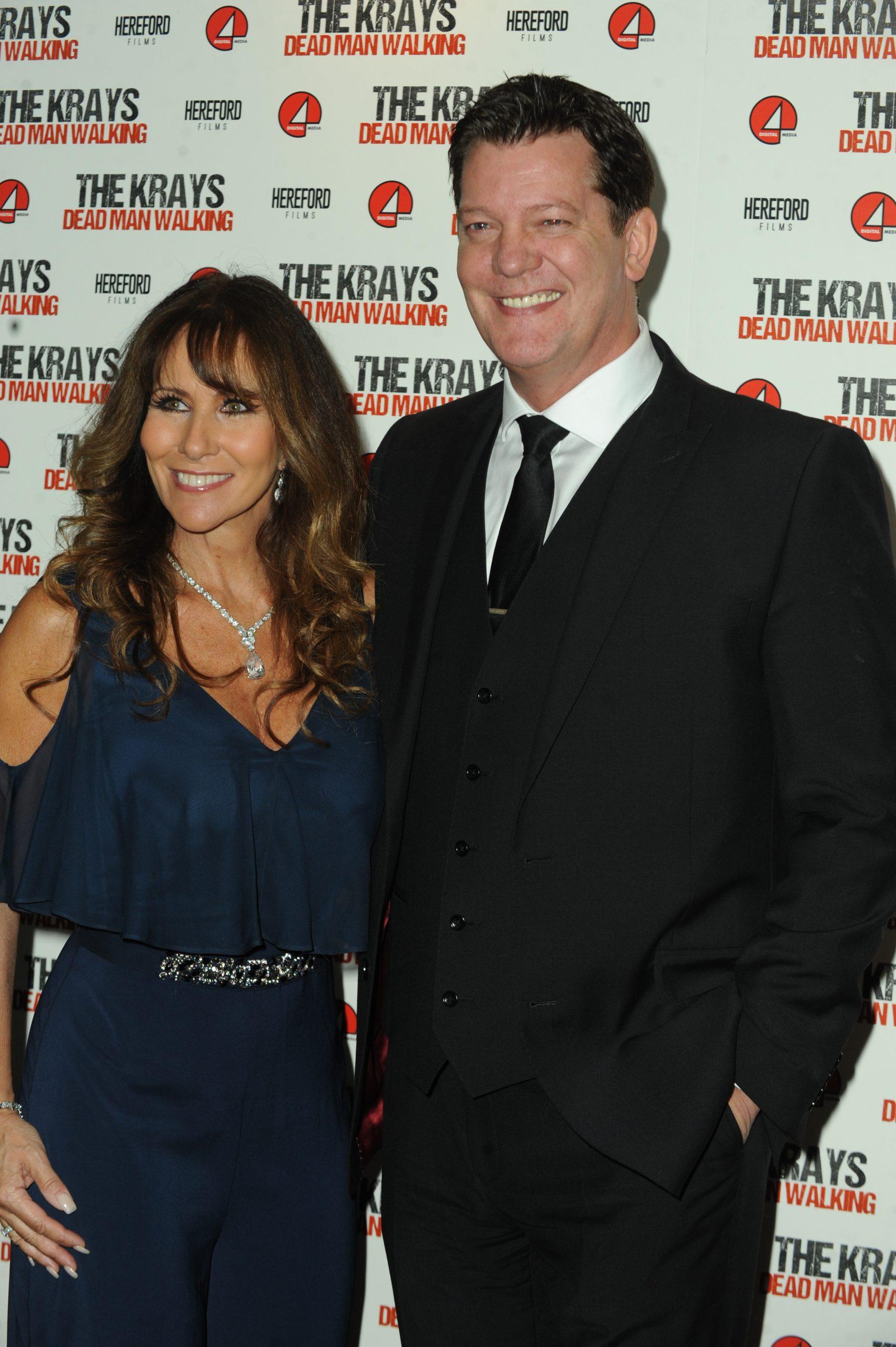 Linda Lusardi and husband Sam Kane are in hospital with coronavirus symptoms
