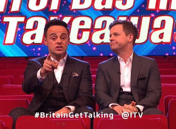 Ant and Dec are relaunching Britain Get Talking