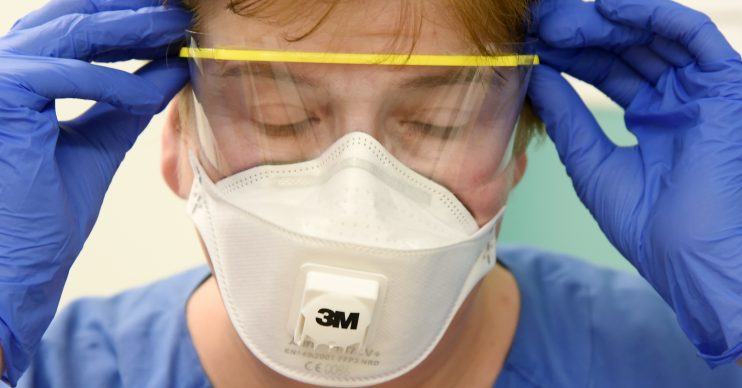NHS nurses are being spat at in the coronavirus outbreak