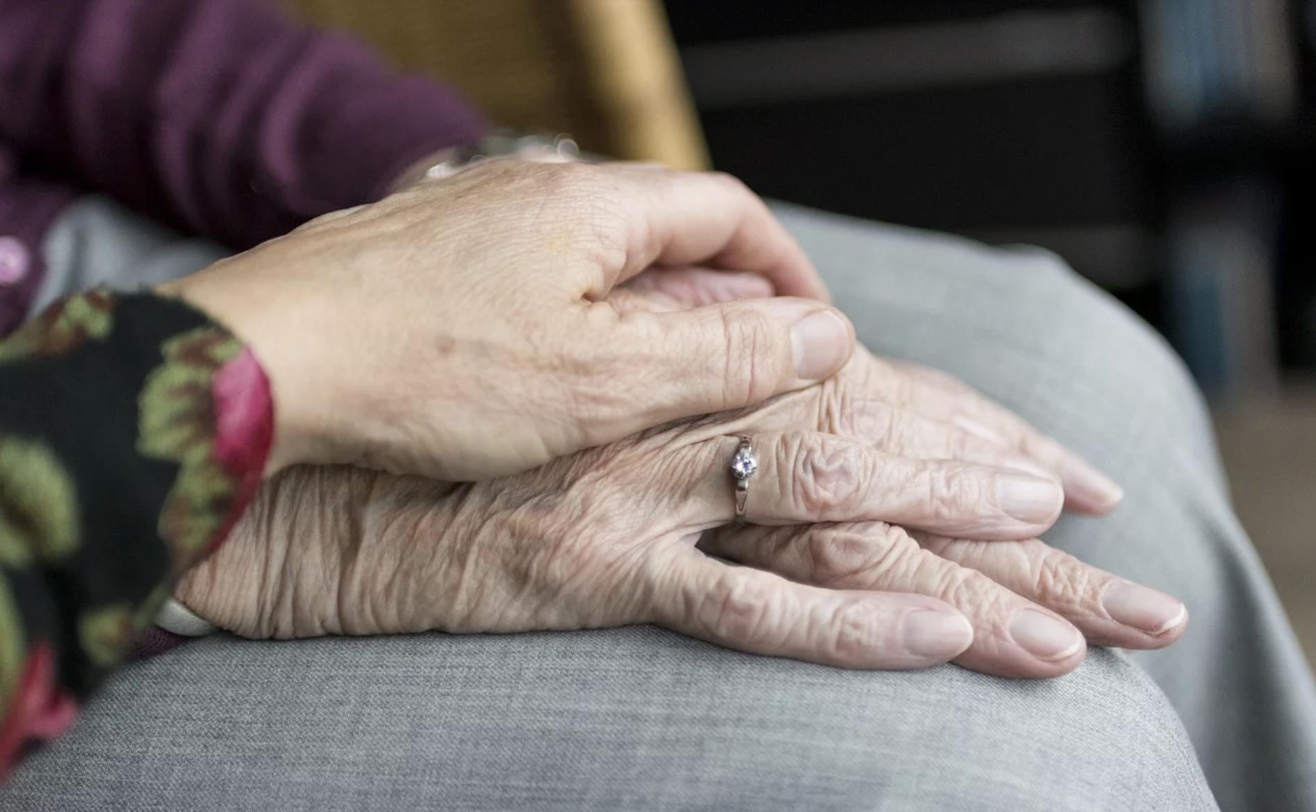 Elderly Person Hands