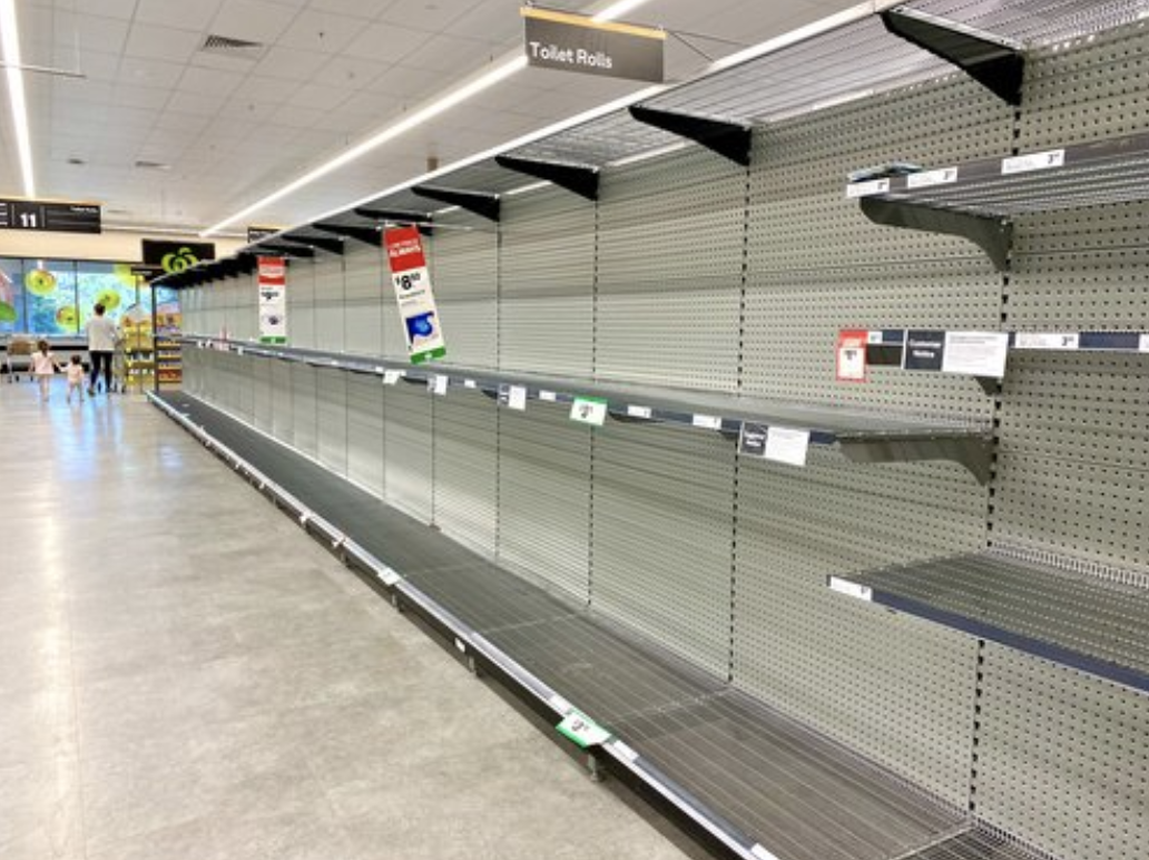 UK supermarkets stripped bare