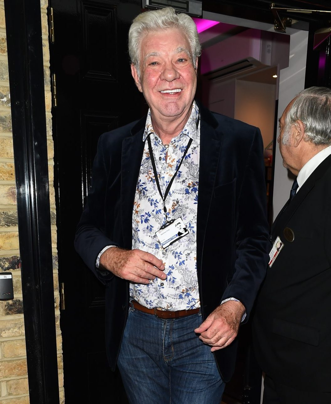 Matthew Kelly hosted the original series of Stars In Their Eyes, which is being remade