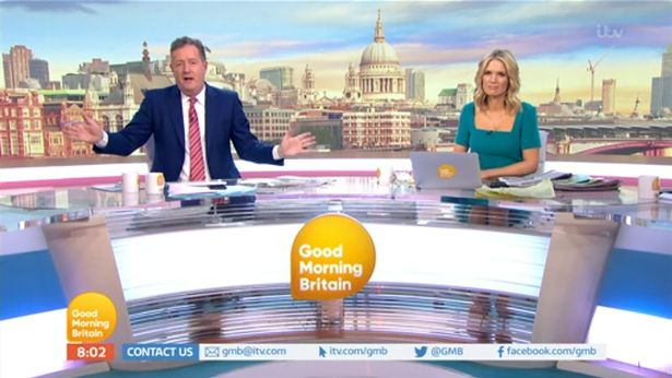 Piers Morgan Good Morning Britain (Credit: ITV)