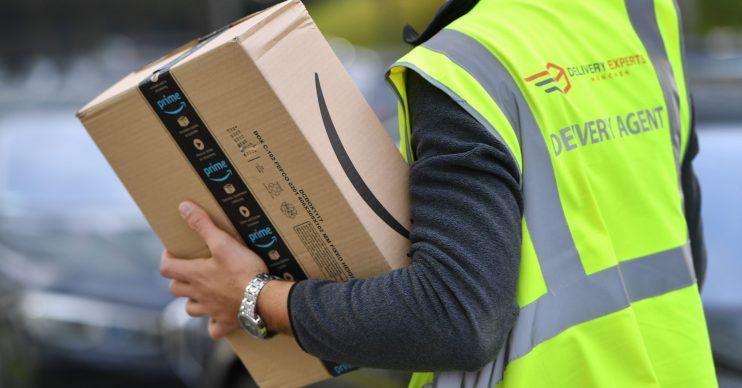 Amazon still delivering