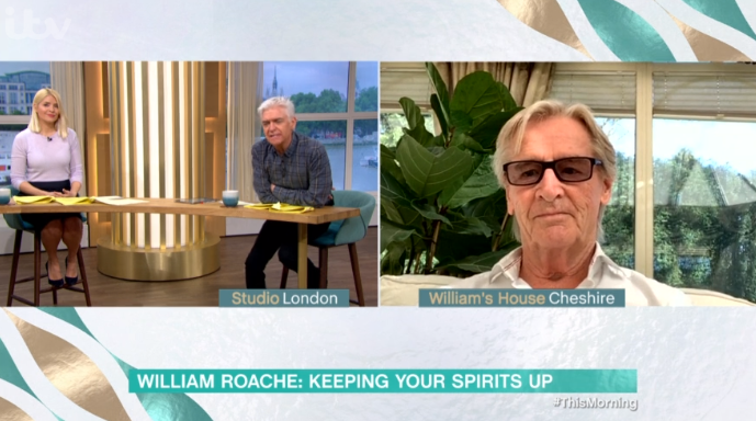 Coronation Street William Roache This Morning