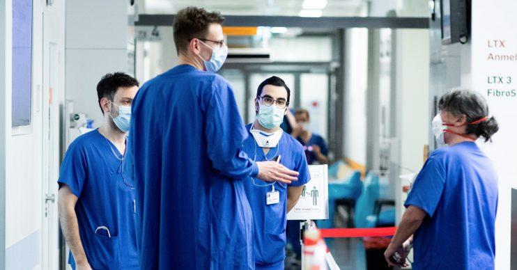 Coronavirus death toll UK