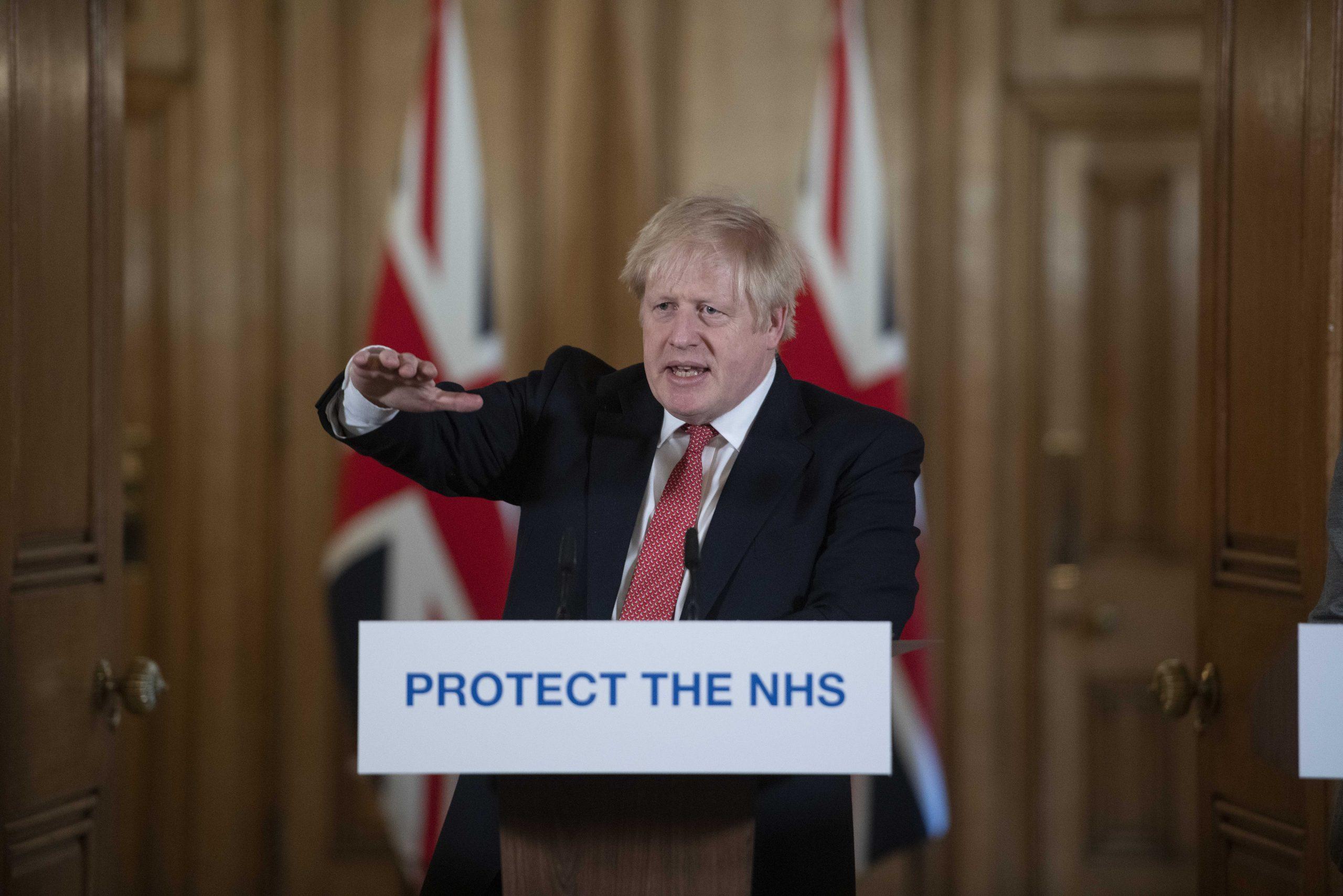 Boris Johnson coronavirus address