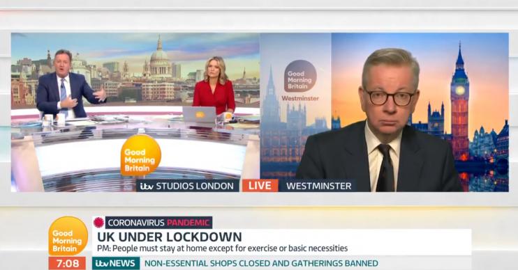 Michael Gove Good Morning Britain (Credit: ITV)