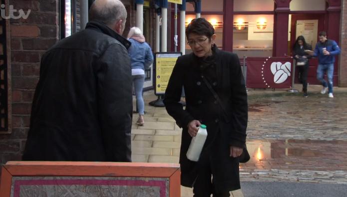 Coronation Street Geoff poisoning Yasmeen
