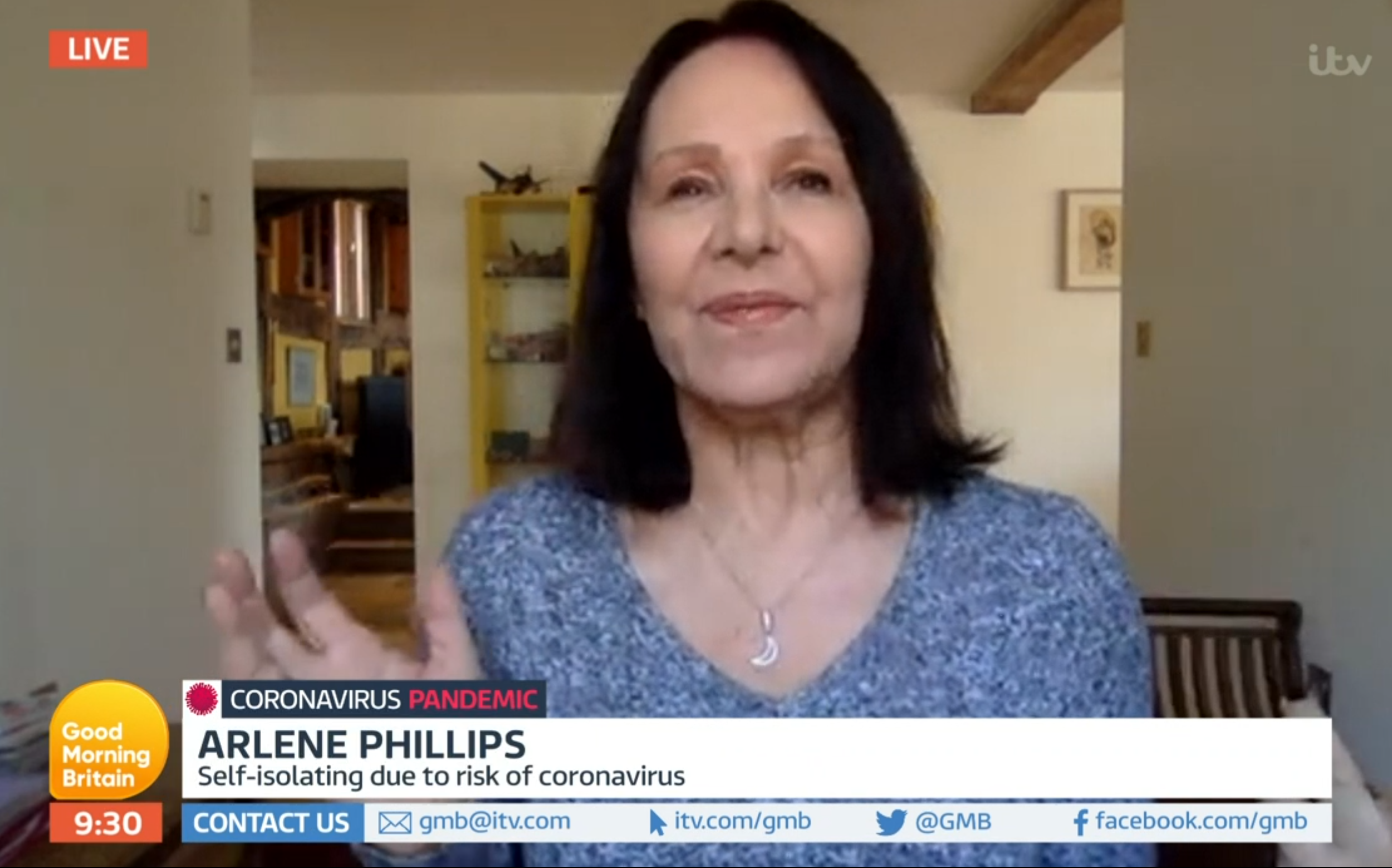 Good Morning Britain fans can't believe age-defying Arlene Phillips is 76