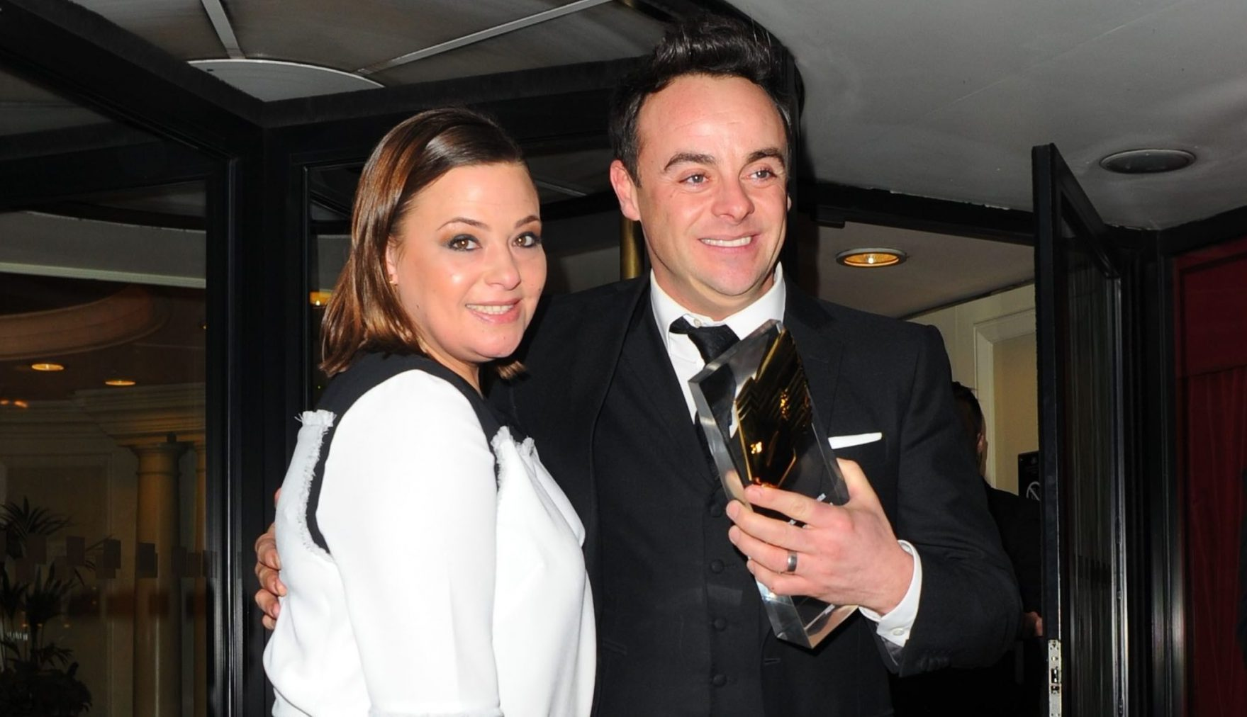 Lisa Armstrong and Ant McPartlin 'on civil terms following divorce settlement'