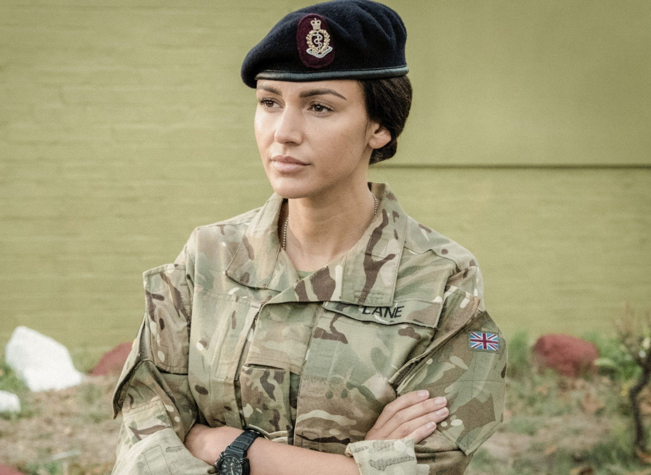 What time does Our Girl start tonight and how did the series end?