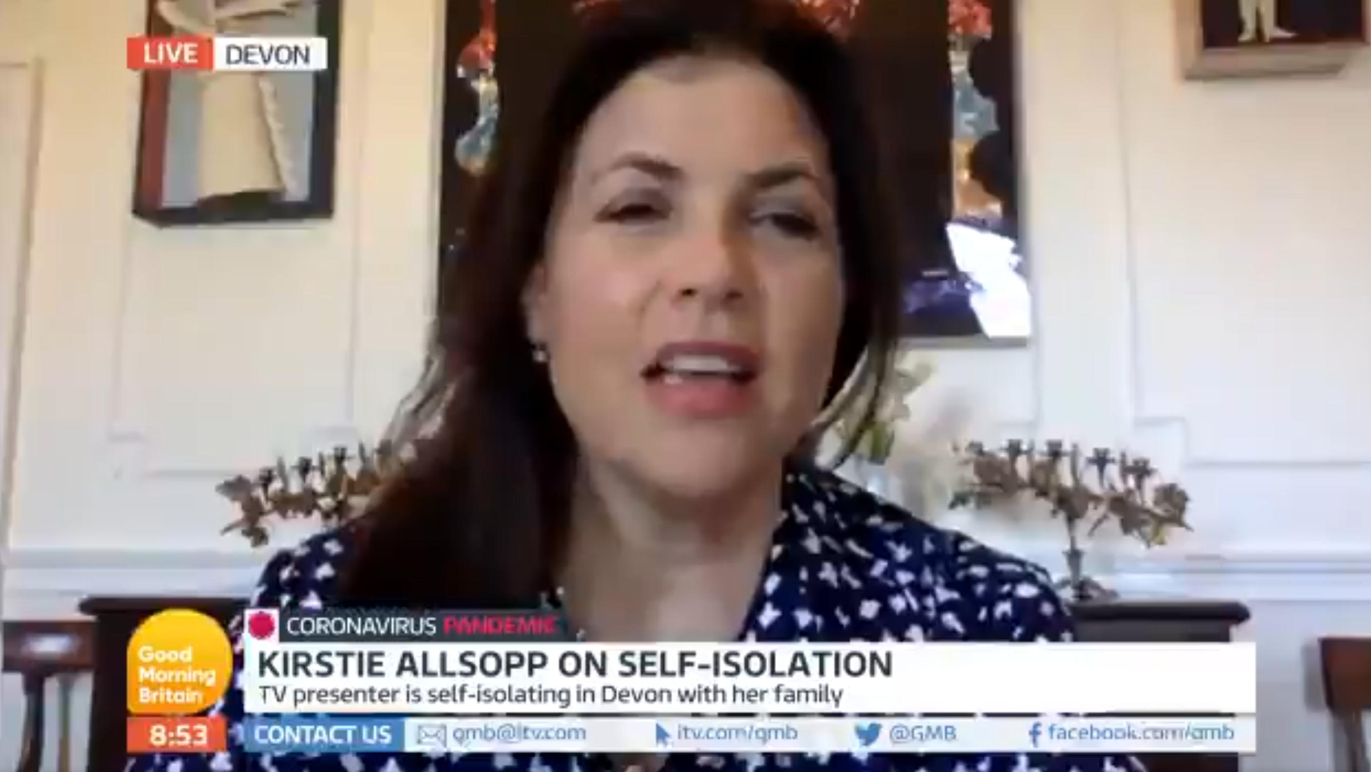 Kirstie Allsopp Good Morning Britain (Credit: ITV)