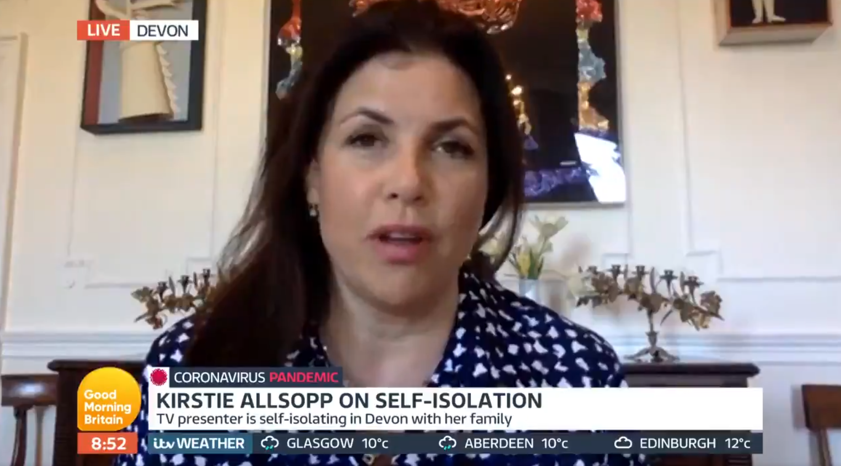 Kirstie Allsopp's mic is MUTED after Piers Morgan row on Good Morning Britain