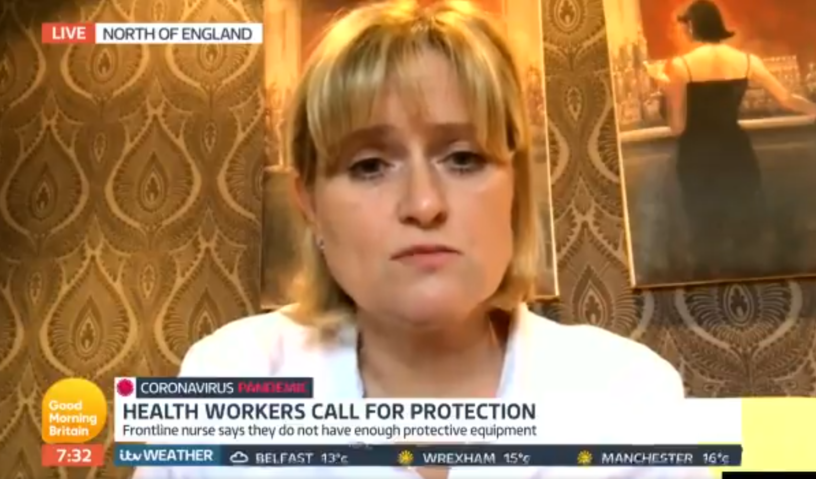Coronavirus nurse says the government is TOO LATE on Good Morning Britain