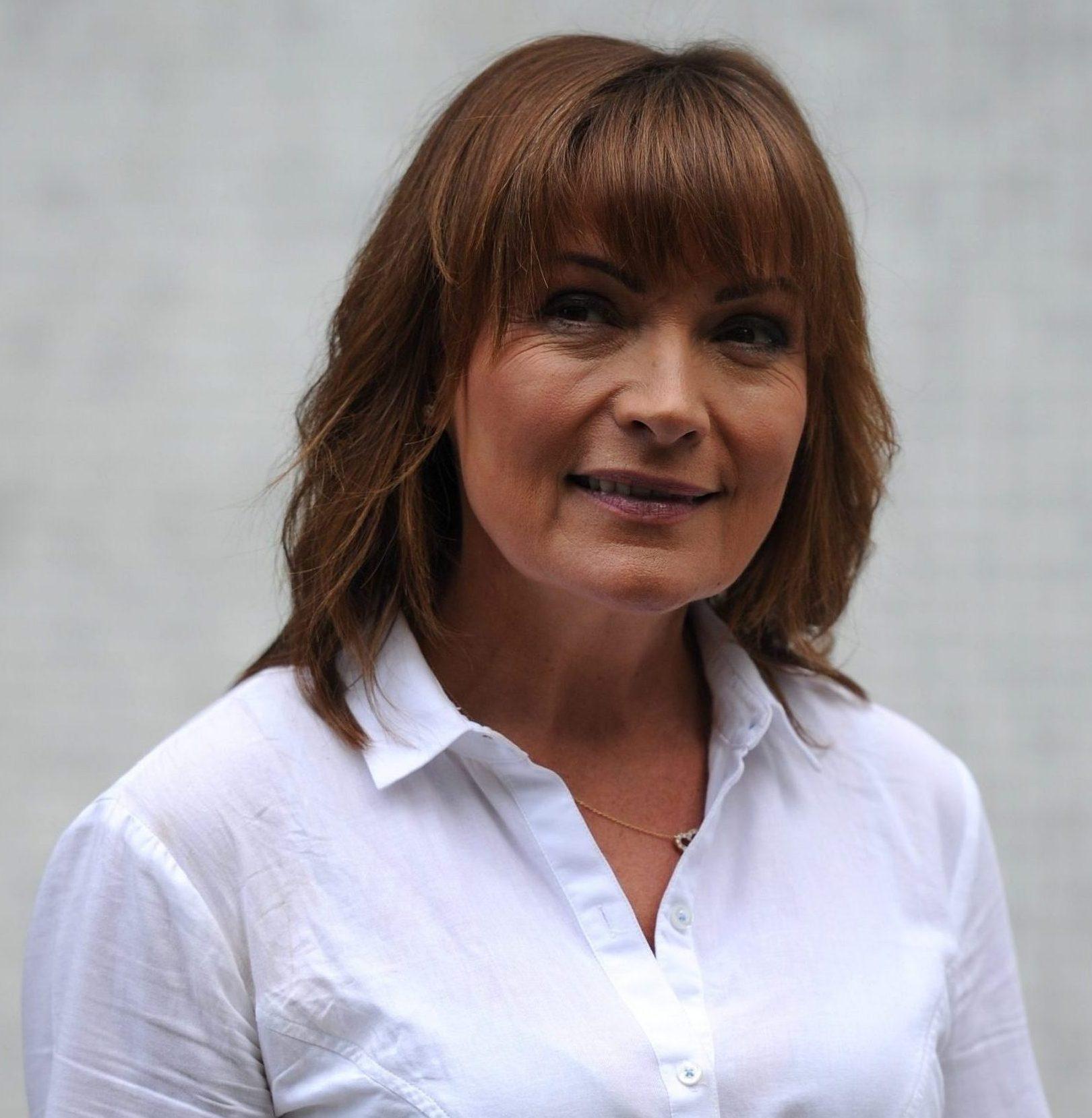 Lorraine Kelly (Credit: Splash News)