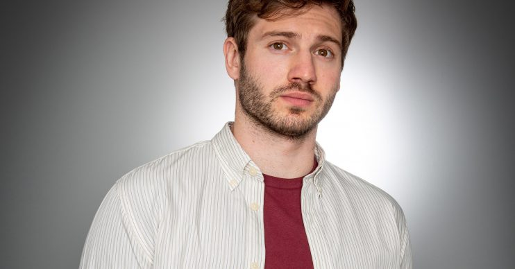 From ITV Emmerdale Alexander Lincoln plays Jamie Tate Picture contact - David.crook@itv.com This photograph is (C) ITV Plc and can only be reproduced for editorial purposes directly in connection with the programme or event mentioned above, or ITV plc. Once made available by ITV plc Picture Desk, this photograph can be reproduced once only up until the transmission [TX] date and no reproduction fee will be charged. Any subsequent usage may incur a fee. This photograph must not be manipulated [excluding basic cropping] in a manner which alters the visual appearance of the person photographed deemed detrimental or inappropriate by ITV plc Picture Desk. This photograph must not be syndicated to any other company, publication or website, or permanently archived, without the express written permission of ITV Picture Desk. Full Terms and conditions are available on www.itv.com/presscentre/itvpictures/terms