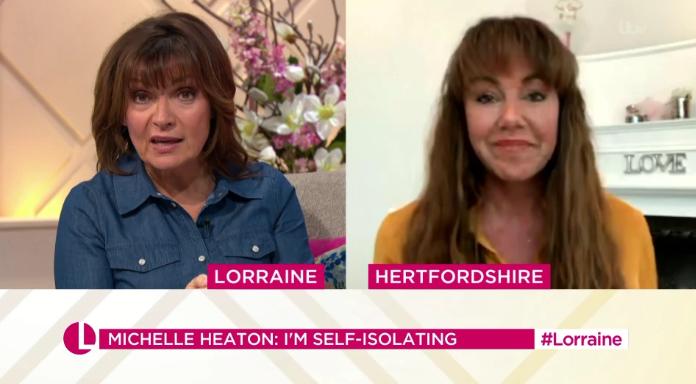 Michelle Heaton on Lorraine