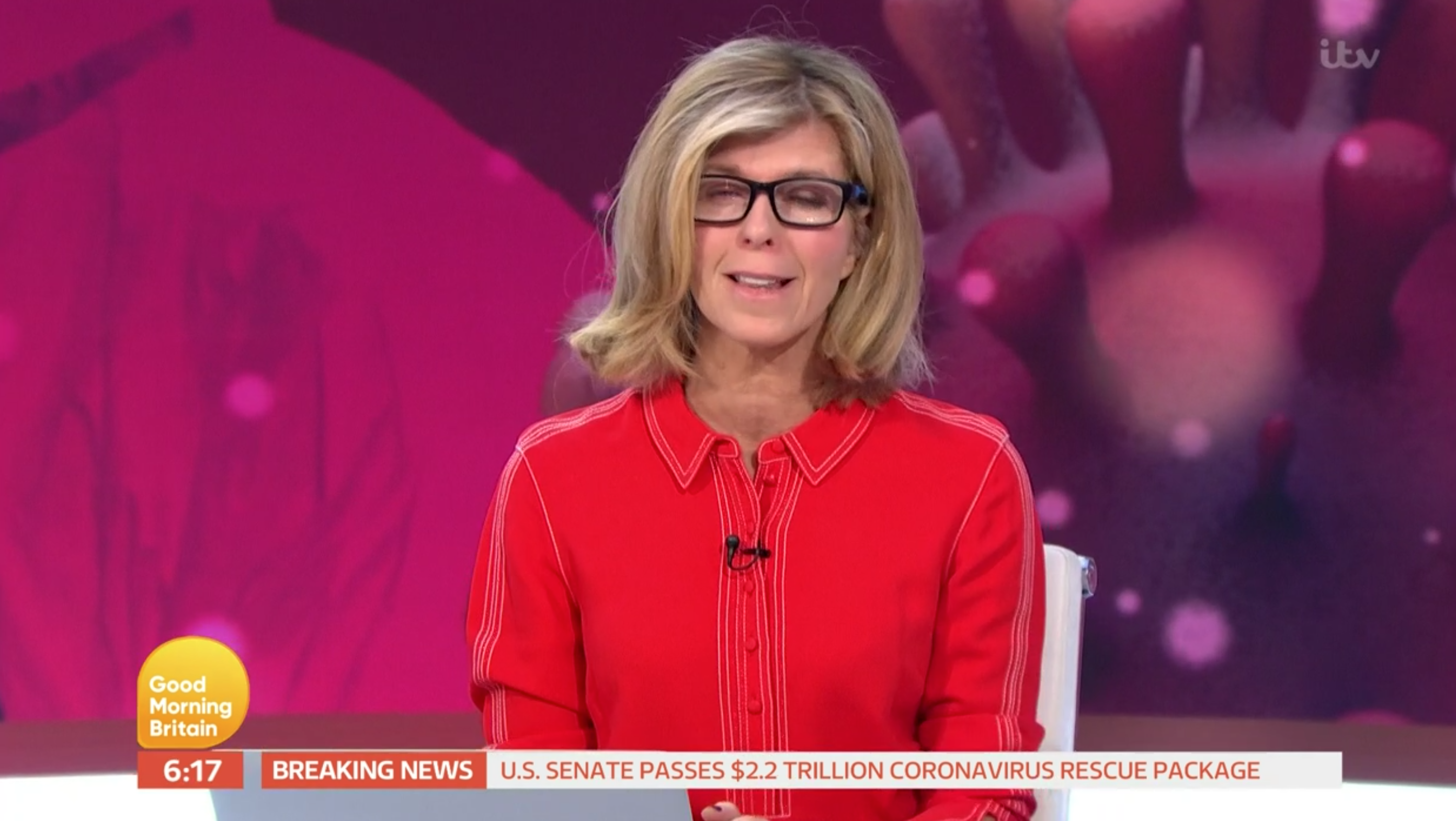 Kate Garraway Good Morning Britain (Credit: ITV)