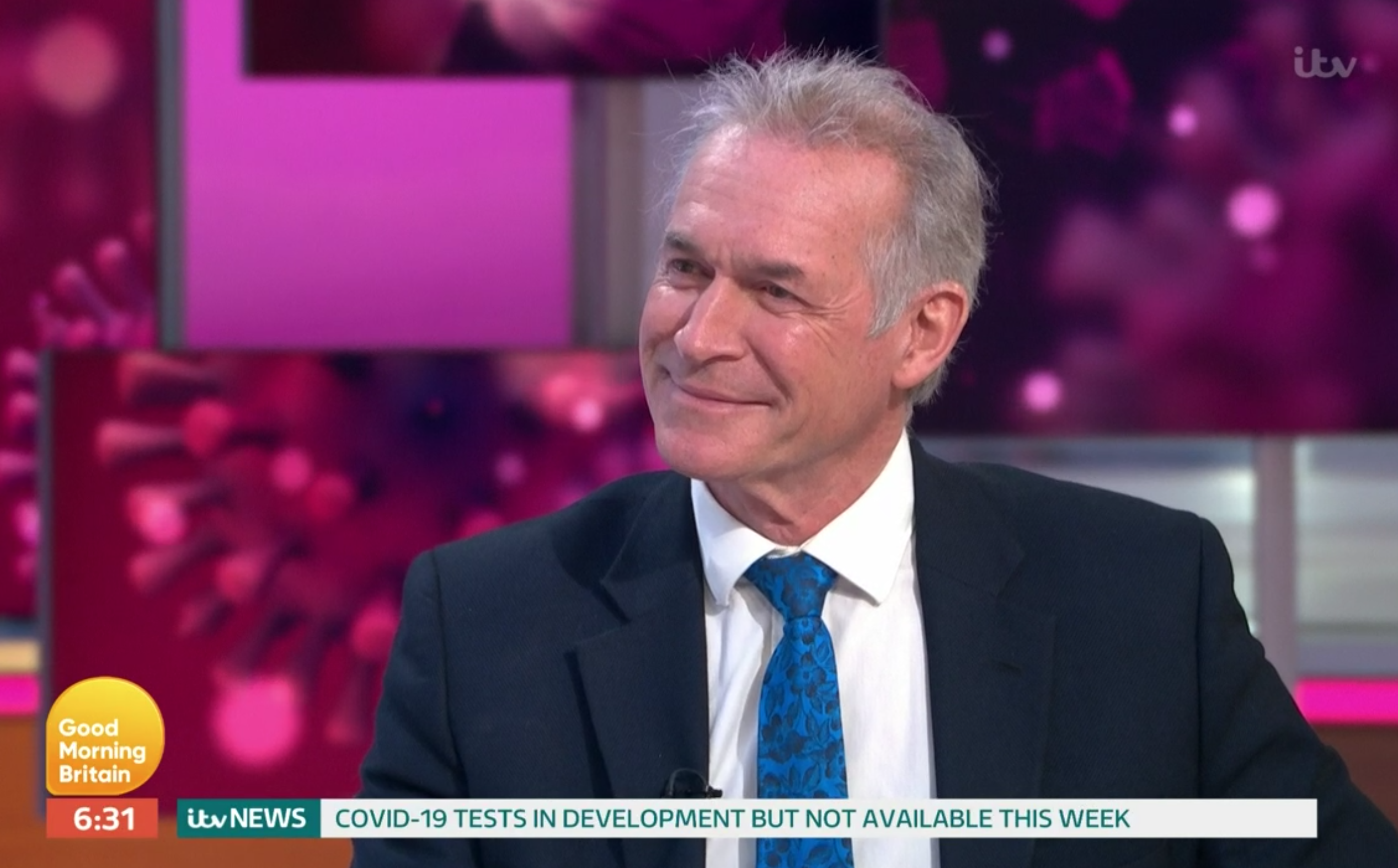 Hay fever or coronavirus? Dr Hilary Jones explains symptoms to look out for on Good Morning Britain