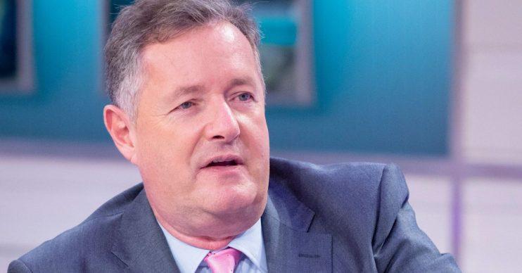 Good Morning Britain's Piers Morgan(Credit: ITV)