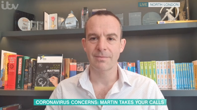 Martin Lewis apologises for 'swearing' live on This Morning during coronavirus discussion