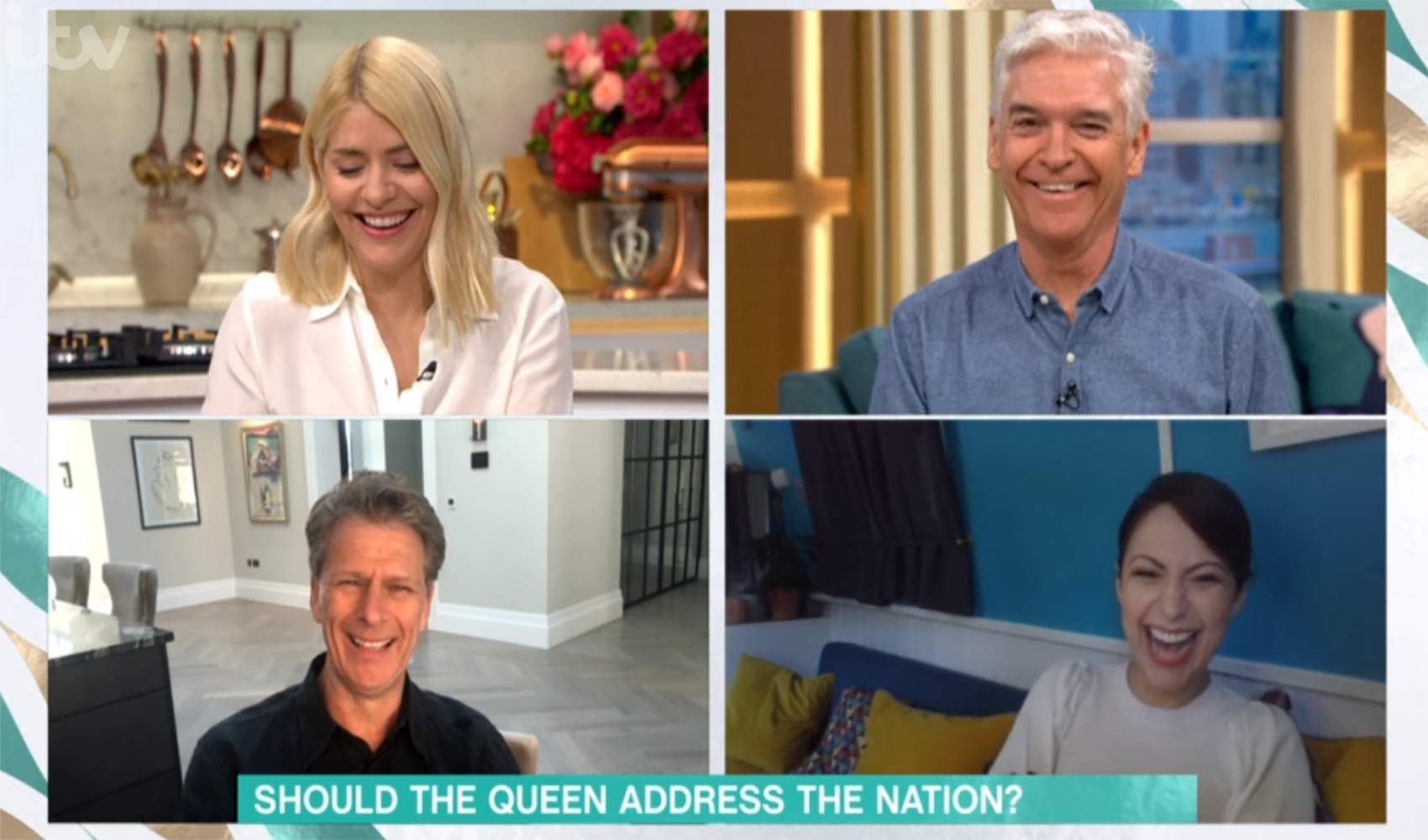 This Morning's Holly Willoughby and Phillip Schofield laugh off Prince Andrew remark