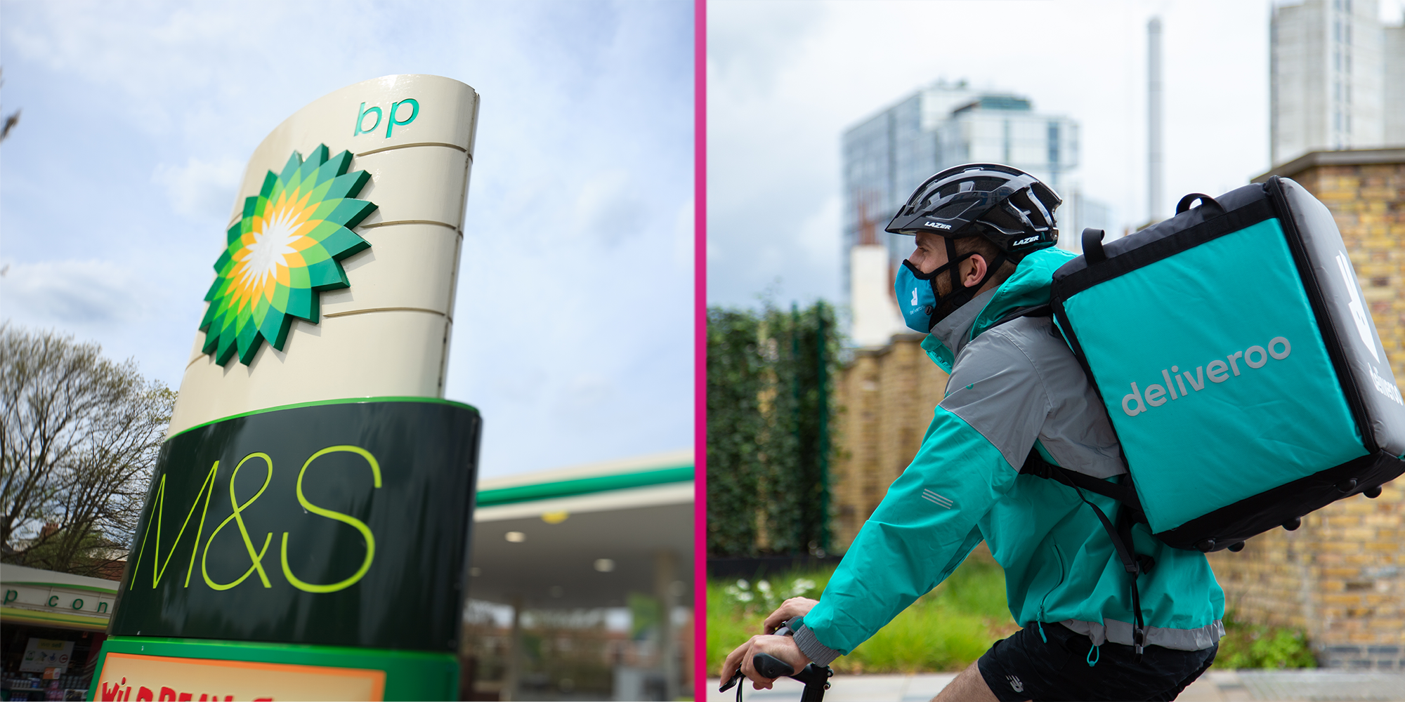 Coronavirus: M&S teams up with Deliveroo to offer food deliveries from its BP garages