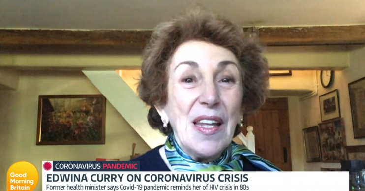 Edwina Currie Good Morning Britain (Credit: ITV)