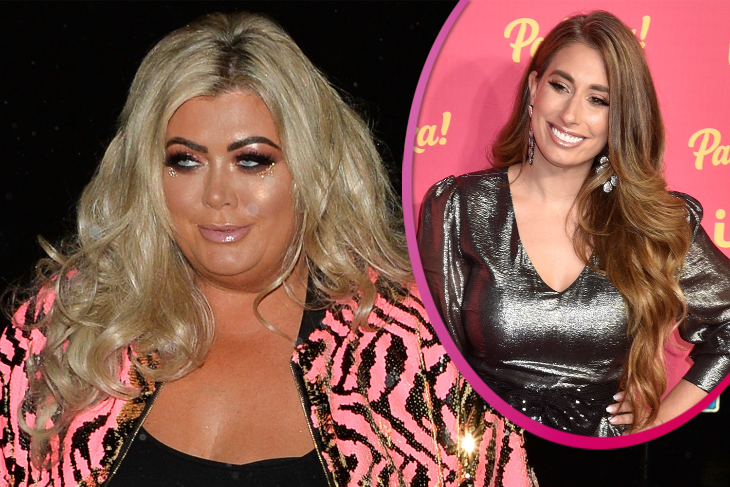 Gemma Collins and Stacey Solomon lead celebrities clapping to pay tribute to NHS