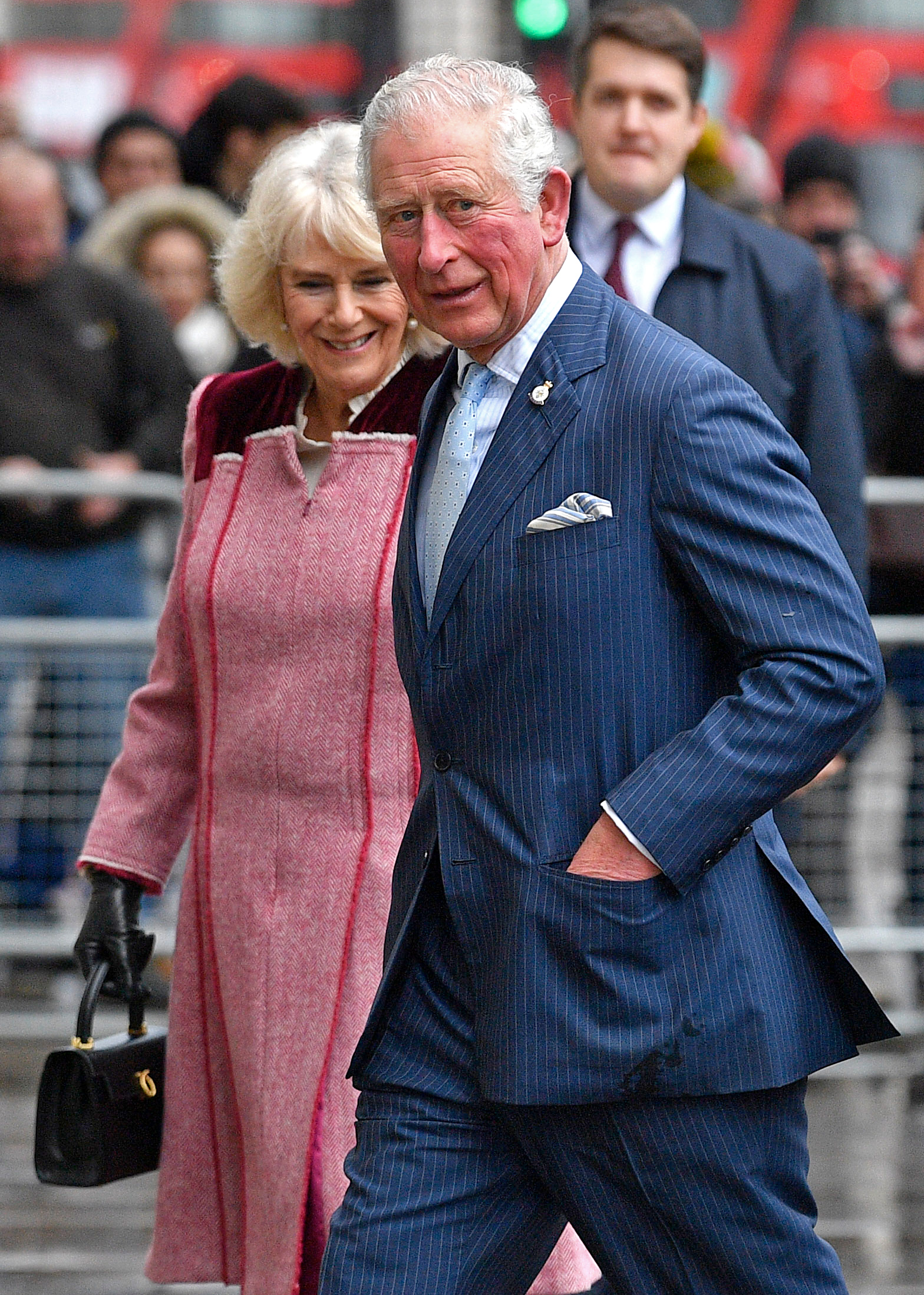 Camilla and Prince Charles. Coronavirus: Buckingham Palace insists Queen 'in good health' as Boris Johnson contracts COVID-19