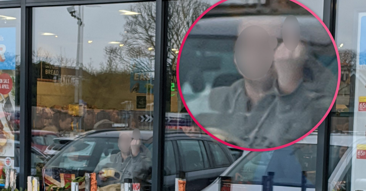 Coronavirus: Aldi shopper deliberately coughs at customer's face in row over social distancing