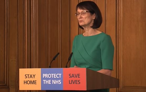 Dr Jenny Harries. Coronavirus: Government puts all parts of UK on 'emergency footing' against COVID-19