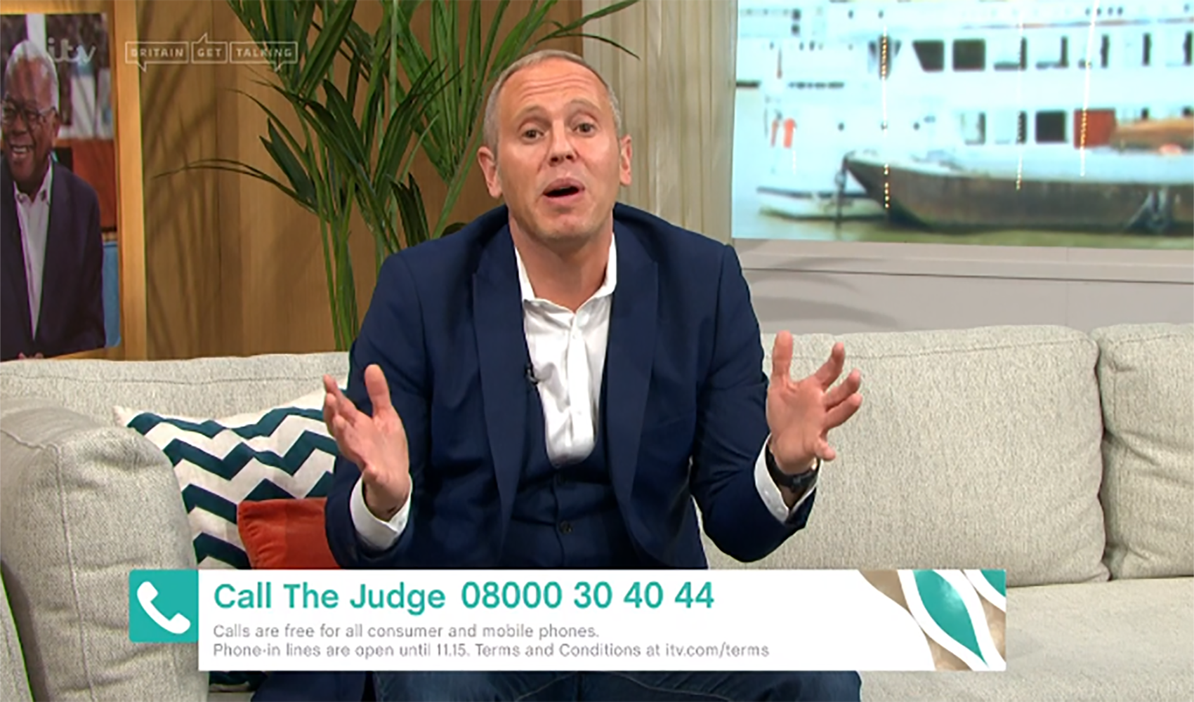 Judge Rinder reveals 'appalling' coronavirus symptoms on This Morning