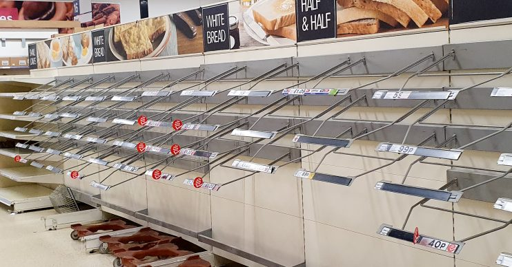Coronavirus: Tesco store introduces one-item limit on essentials such as bread and milk