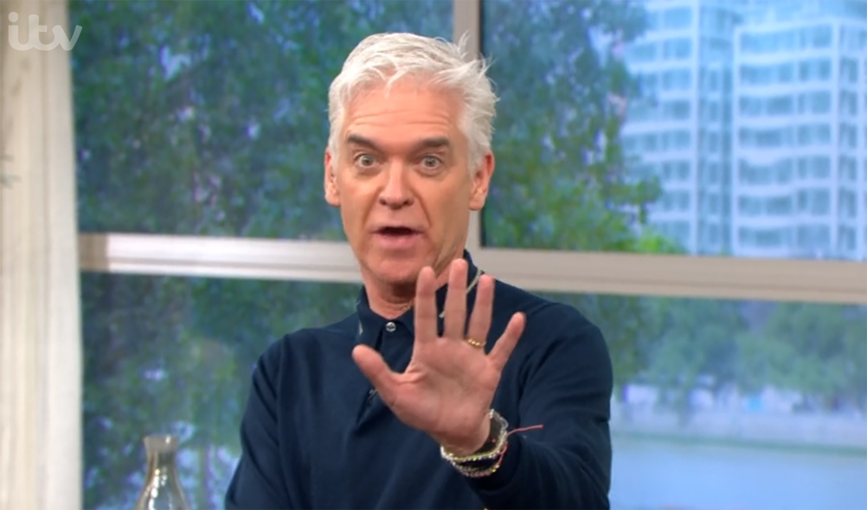 Phillip Schofield insists he's 'okay' after coughing on This Morning sparks concern